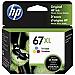HP 67XL TRI-COLOUR INK